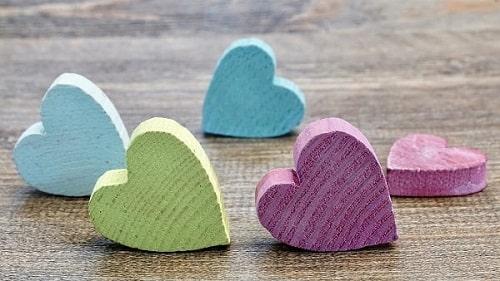 liefdesteksten voor hem hartjes in kleur