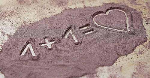ik hou van jou gedicht 1+1 = love